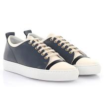 Sneaker SKPK Leder weiß Lackleder schwarz weiß