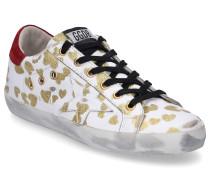 Sneaker low SUPERSTAR Glattleder Used gold