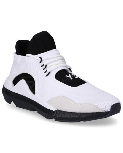 Sneaker high SAIKOU Neopren Polyester Wildleder Logo