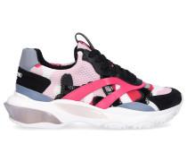 Sneaker low BOUNCE Textil altrosa pink schwarz