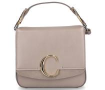 Handtasche C Kalbsleder beige