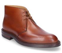 Chelsea Boots CHEPSTOW Glattleder Prägung braun