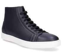 Sneaker high 20860 Nappaleder Logo dunkel