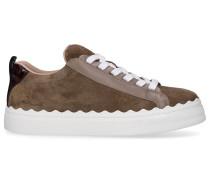 Sneaker low LAUREN Veloursleder Logo e