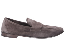 Loafer 70400.8 Kalbsvelours grau