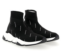 Sneaker Slip-On Speed Trainer Baumwollmischung Logo