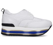 Sneaker low MAXI Kalbsleder Lochmuster