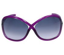 Sonnenbrille Oversize 9 Acetat lila