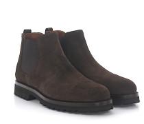 Stiefeletten Boots EVA Veloursleder rahmengenäht