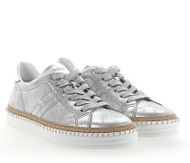 Sneaker R260 Leder metallic finished Bast