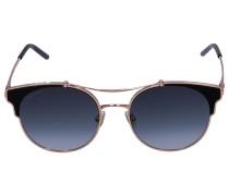 Sonnenbrille Wayfarer LUE/S Metall rosé