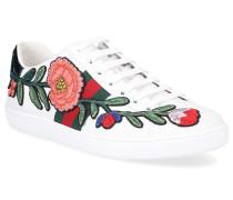 Sneaker low ACE Kalbsleder Blumenmuster Webdetails