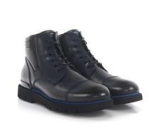 Stiefeletten Boots OLD ENGLAND Leder dunkel