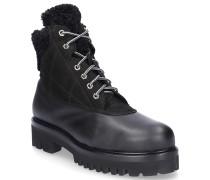 Chelsea Boots 8804 Glattleder Lammfell Fellschaft