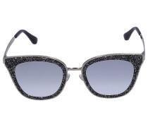 Sonnenbrille Wayfarer LIZZY Metall gold