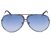 Sonnenbrille Wayfarer 2140 Acetat Schildkröte braun