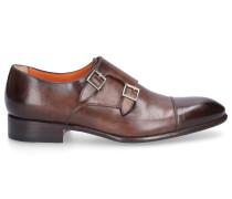 Monk Schuhe Kalbsleder