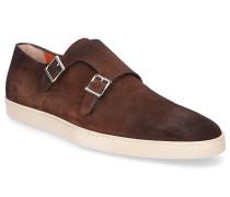 Sneaker Doppel-Monk 15506 Veloursleder