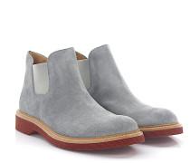 Stiefeletten Boots 498 Veloursleder