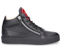 Sneaker high KRISS Glattleder Logo