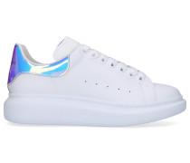 Sneaker low LARRY Kalbsleder Logo pink