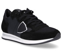 Sneaker TROPEZ Glattleder Kalbsvelours Textil Logo