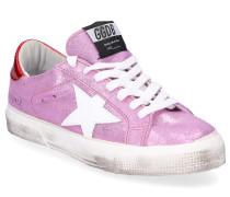 Sneaker low MAY Veloursleder Crinkled