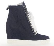 Keilsneaker 2X93H Denim jeans Kettenverzierung