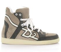 Sneakers High SN105 Veloursleder perforiert