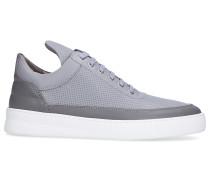 Sneaker low LOW TOP PLAIN Kalbsleder Lochmuster Logo