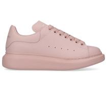 Sneaker low LARRY Kalbsleder Logo altrosa