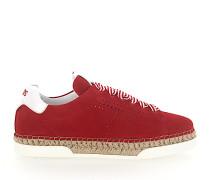 Sneaker A0Y550 Plateau Veloursleder