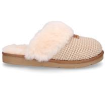 Hausschuhe COZY KNIT SLIPPER Baumwolle Logo -kombi