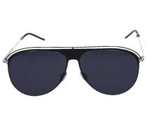 Sonnenbrille Aviator 0217S Metall silber