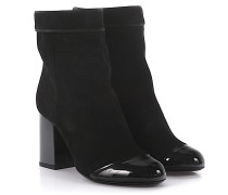 Stiefeletten Boots SHFIB1 Veloursleder Lackleder