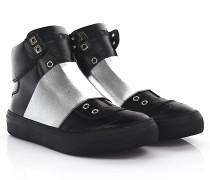 Sneakers High Slip On Archie Leder Stretchband