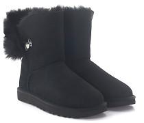 Stiefeletten Boots IRINA Veloursleder Lammfell