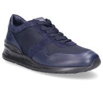 Sneaker low A0Z280 Glattleder Textil Veloursleder