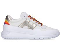 Sneaker low H371 Kalbsleder Nylon Logo