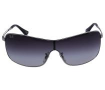 Sonnenbrille Shield 3466 Metal silber