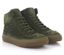 Sneaker High Argyle Veloursleder Stars