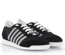 2 Sneakers New Runner Veloursleder Hightech-Jersey