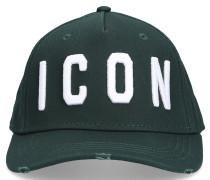 Snapback ICON Gabardine Logo Stickerei
