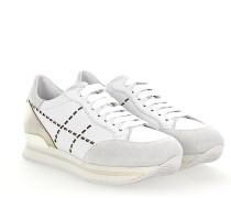 Sneaker H222 Glattleder Metallisch gold