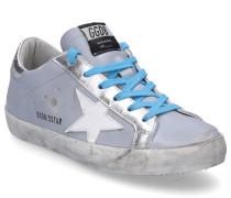 Sneaker low SUPERSTAR Glattleder Used blau