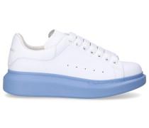 Sneaker low LARRY Kalbsleder Logo hell