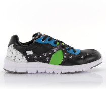 Sneakers New Jamaica Leder Polyester