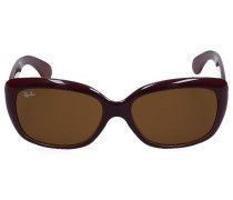 Sonnenbrille Rectangular 4101 BORDEA Nylon bordeaux