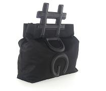Schultertasche Handtasche Nylon Leder Henkel
