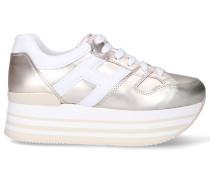 Sneaker low H283 MAXI Kalbsleder Logo